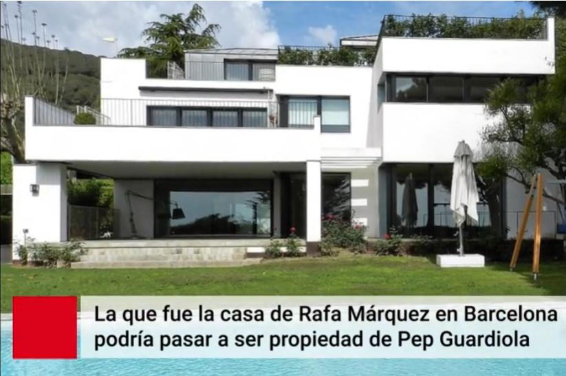 世体:花费1000万欧,瓜迪奥拉和妻子在巴塞罗那购置了一套豪宅