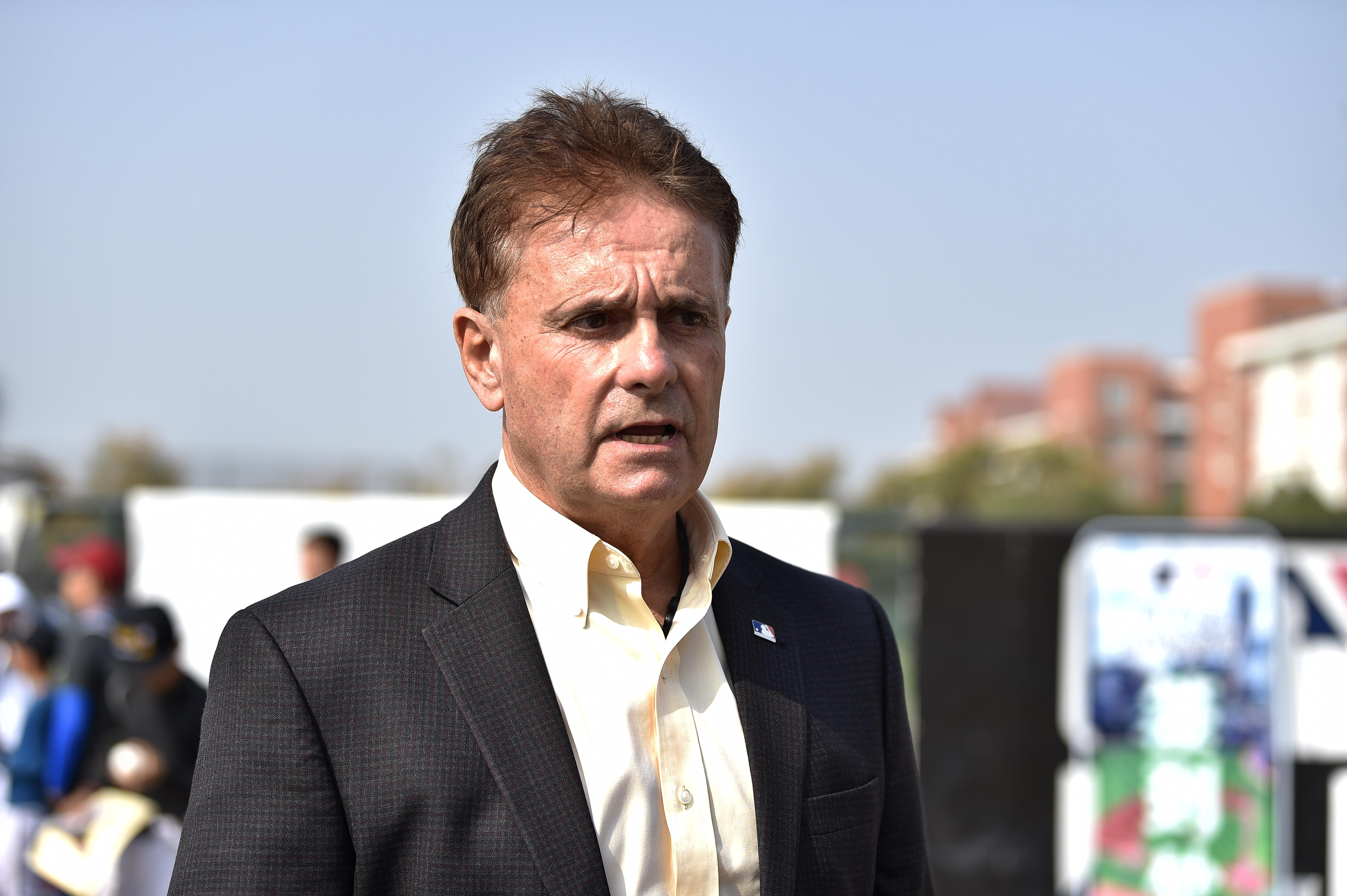 MLB亚太区棒球发展总经理锐克-戴尔