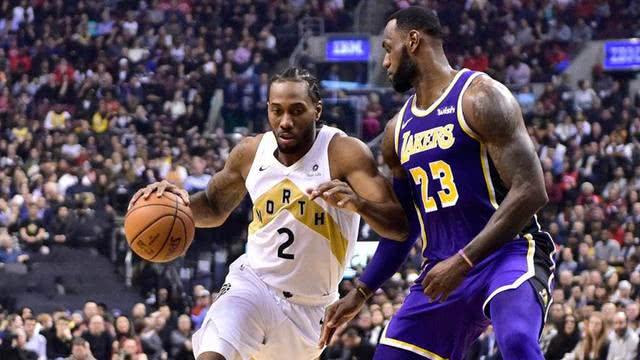 NBA前球员:伦纳德和詹皇不是一个等级