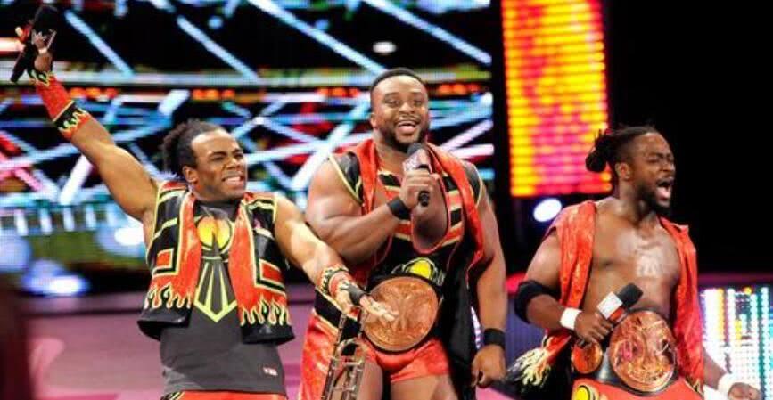 WWE摔小輝新聞:新一天組合,將成為史上最具特征和超紀錄的組合!   ?