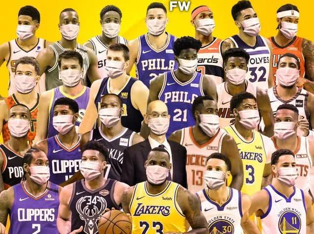 NBA做出决定!生产球队队标口罩:支撑两慈善组织 ?