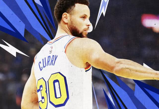 库里的统治力已经下降了,他不可能进入NBA总决赛了