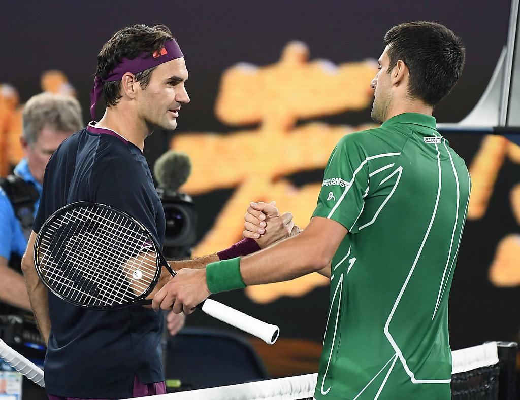 费德勒在今年澳网半决赛不敌德约