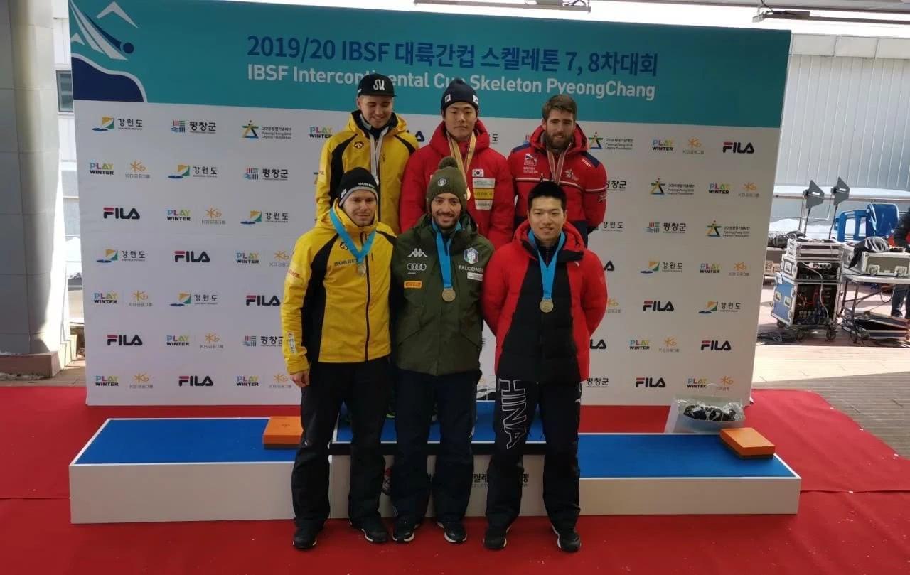 雪上总述:陈文浩夺钢架雪车洲际杯年终亚军 雪上技巧创新纪录