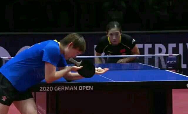 刘诗雯4:0横扫德国选手单晓娜,取得开门红!赛后承受采访时