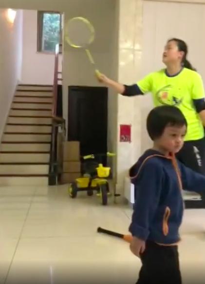 羽毛球奥运冠军龚智超罕见露面,身材发福