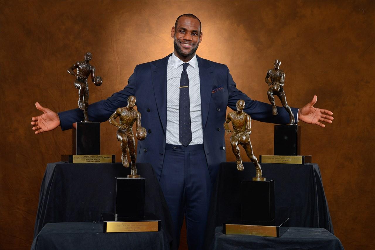詹姆斯生计4个MVP少了?美媒:科比和乔丹也是如此