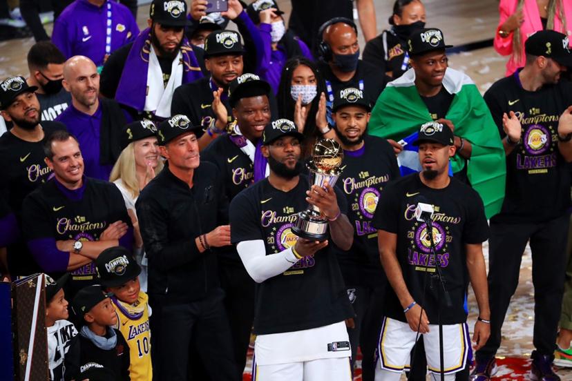 夺冠后湖人拿到350万美元奖金!作为当家球星