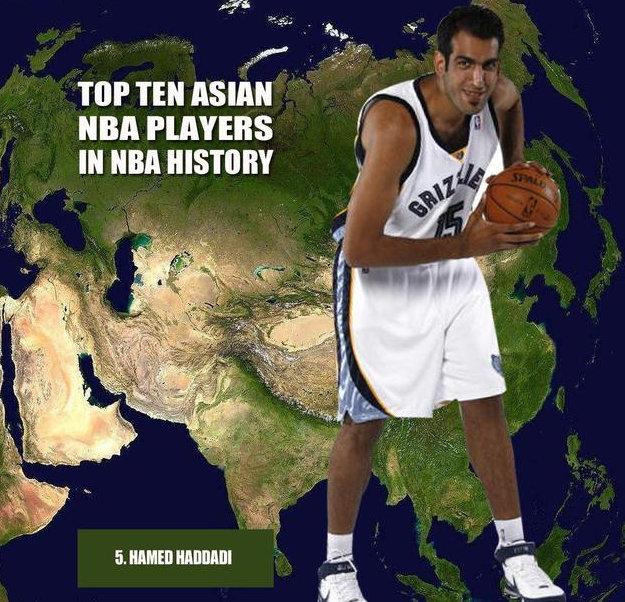 NBA6大亚洲球员!他新秀进前四,前三被我国包圆,第一无可争议