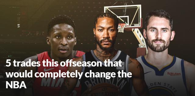 美媒猜想5大将改动争冠格局的生意:乔治换西蒙斯,篮网截胡罗斯