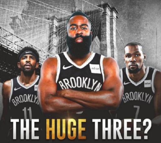 NBA大结局!篮网8换2酿大买卖,哈登或将联手杜欧 