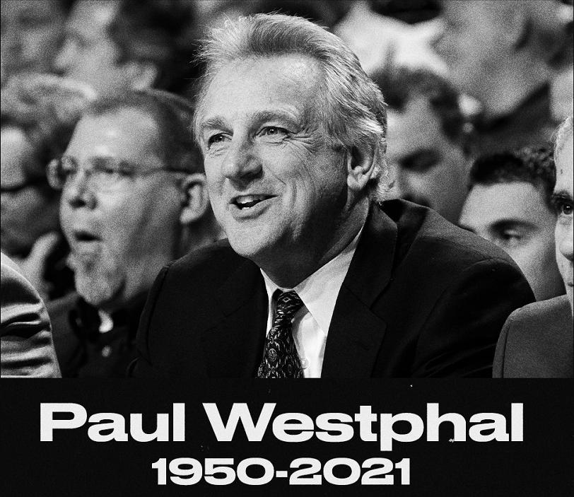噩耗!威斯特法尔因病逝世,只是53天,NBA两大名人堂巨星陨落