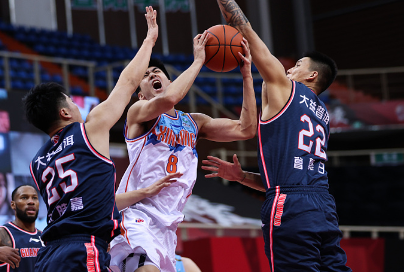 依照广东男篮打新疆男篮的水平,放在其他联赛,广东是什么水平?   