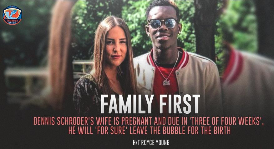 施罗德将迎候孩子出生 本季近20分成第六人奖大热