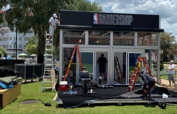 NBA重启带动经济!饭馆+理发师准备就绪