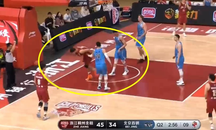 浙江队2分险胜北京队,又是一个罚篮的准绝杀