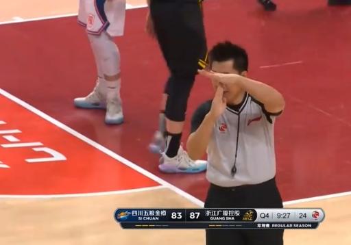 广厦男篮困难战胜四川男篮。但是,相比起竞赛的输赢