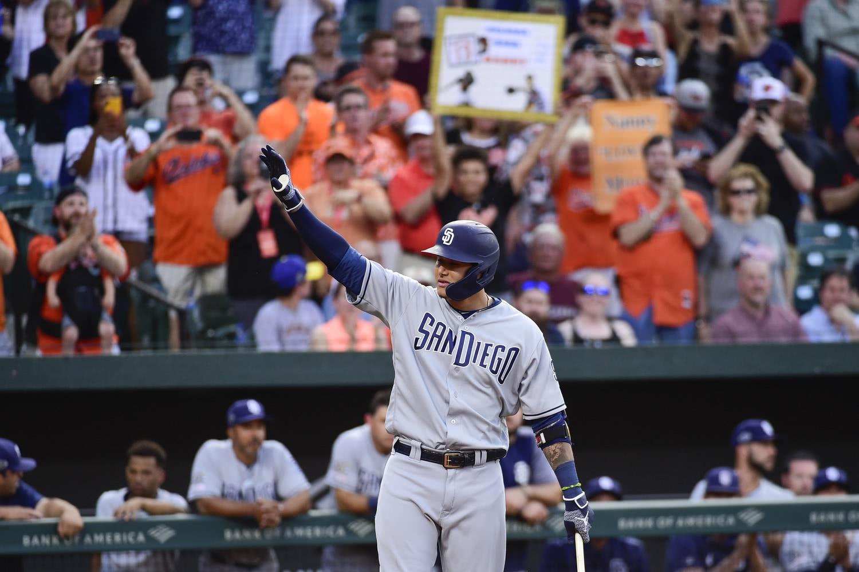 MLB三亿先生马查多重回巴尔的摩 心念故友打出本垒打
