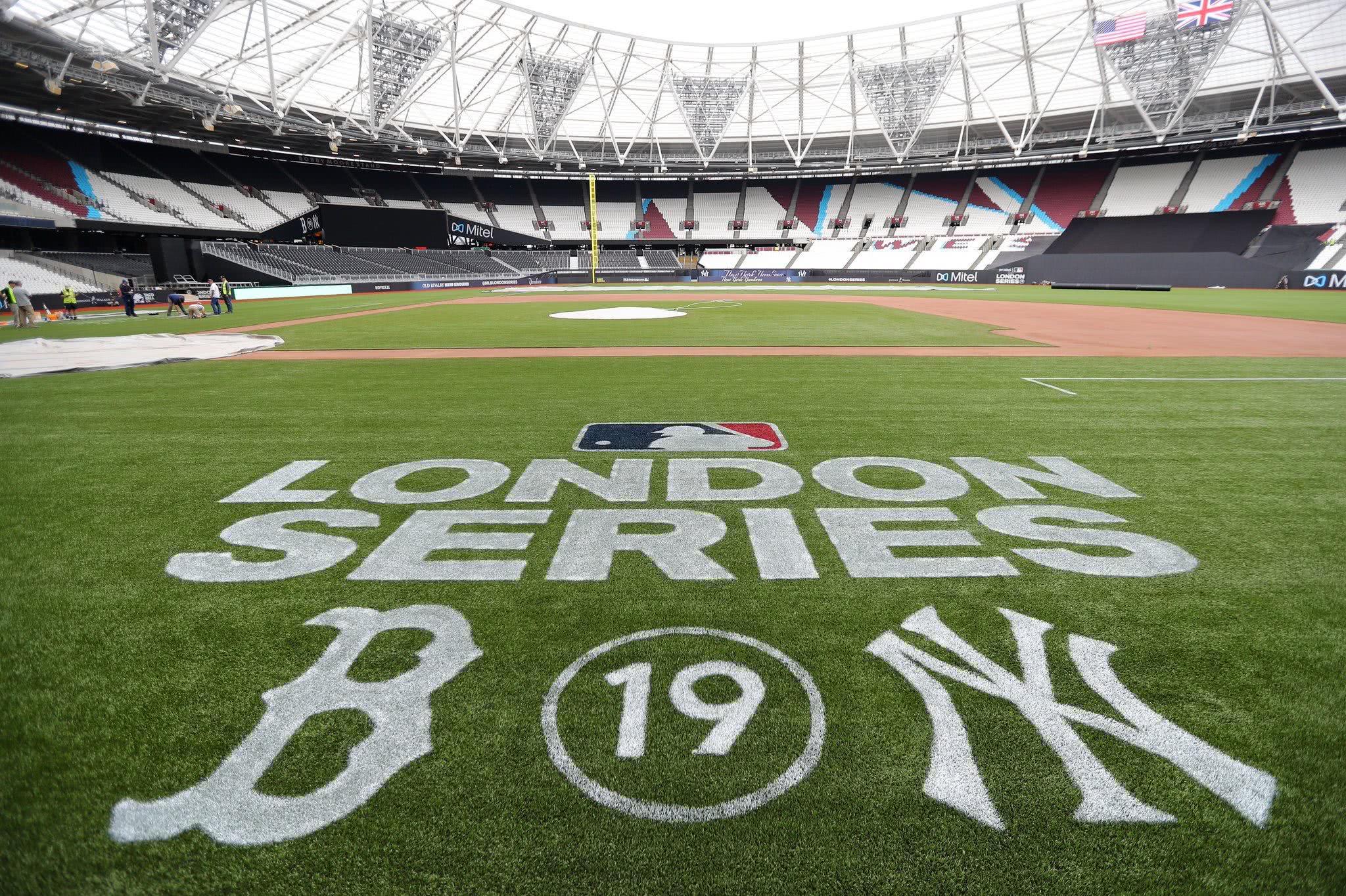 12万张球票瞬间售罄 MLB基袜大战周末在伦敦打响