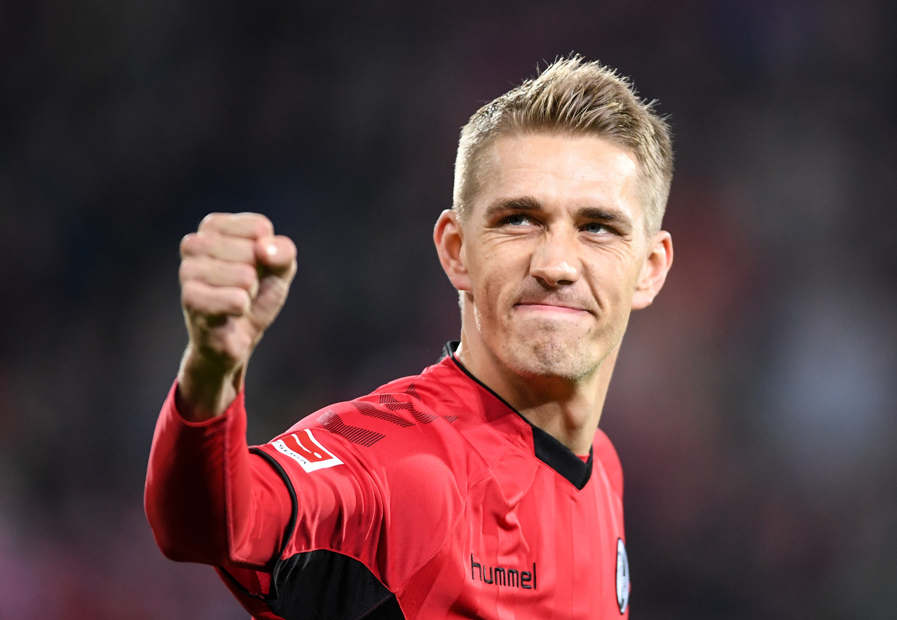 彼得森83球追平勒夫,并列弗赖堡队史射手榜榜首