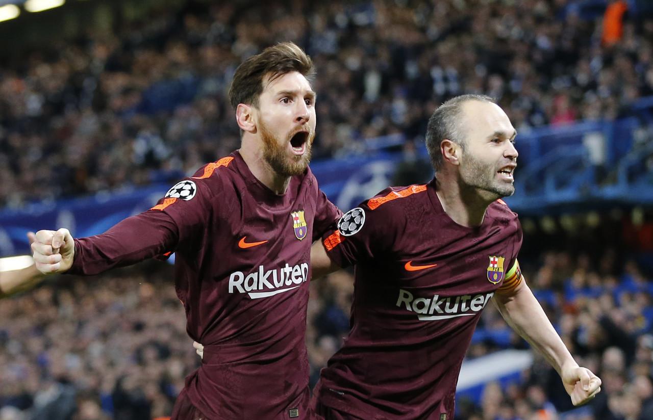 伊涅斯塔:梅西至今仍让我惊奇 曾经踢球时很喜欢艾马尔