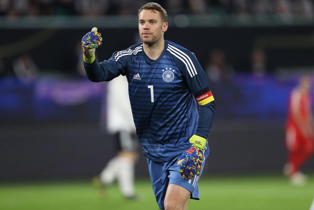 诺伊尔将完结国家队第96次进场,超越迈耶成为德国进场最多的门将