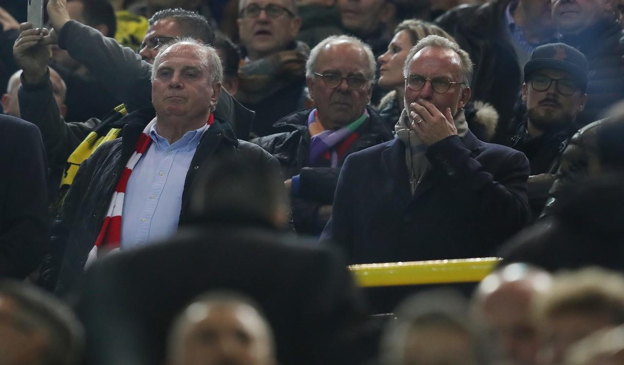 埃芬博格:鲁梅尼格和赫内斯成果了拜仁,他们未来应去德足协任职