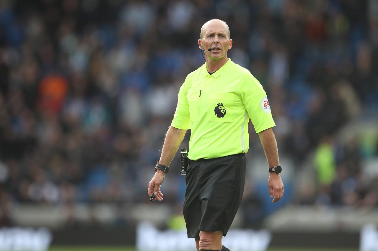 麦克-迪恩本赛季两次执法利物浦英超竞赛,赤军都被判点球