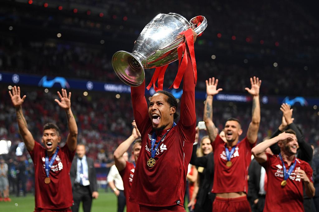 范迪克:上赛季最重要的事情,就是赢得欧冠的冠军