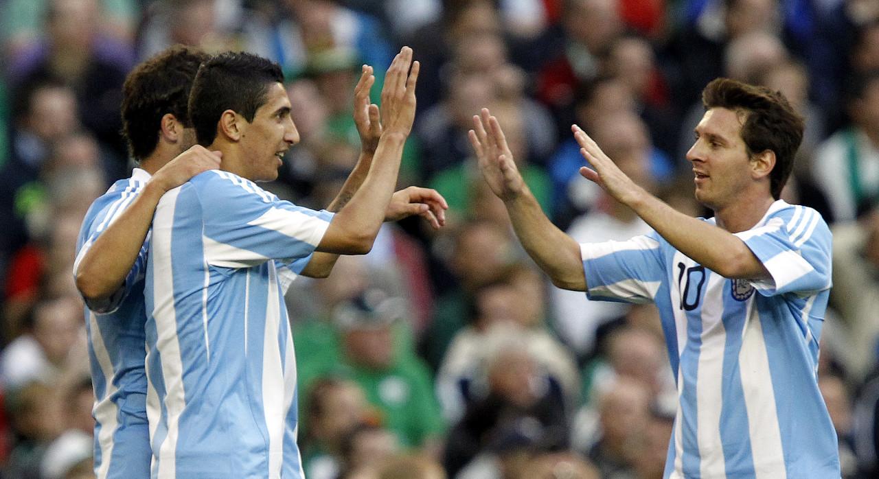 迪马利亚:没在国家队与最好的梅西伙伴,期望能与他成沙龙队友