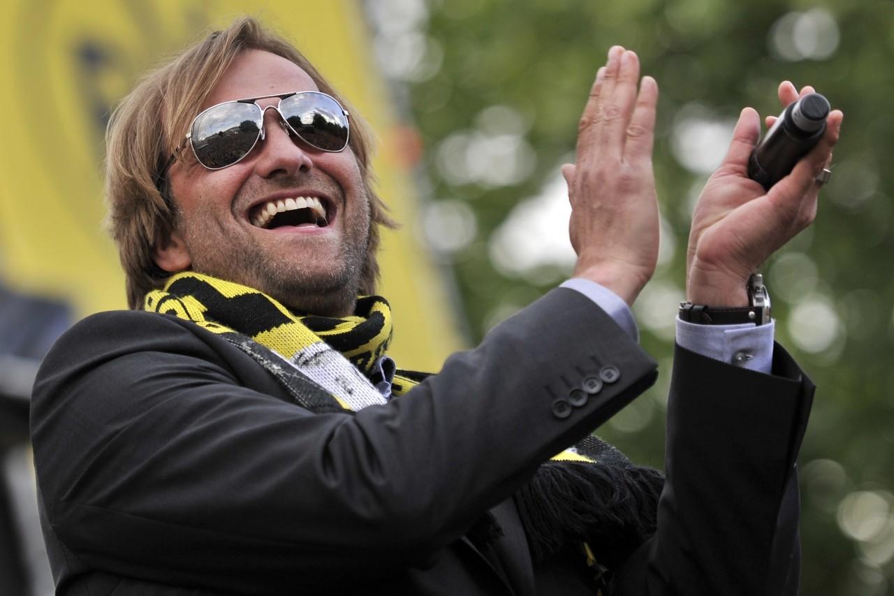 克洛普回想12年德甲夺冠庆祝:喝断片了,啥都没记住
