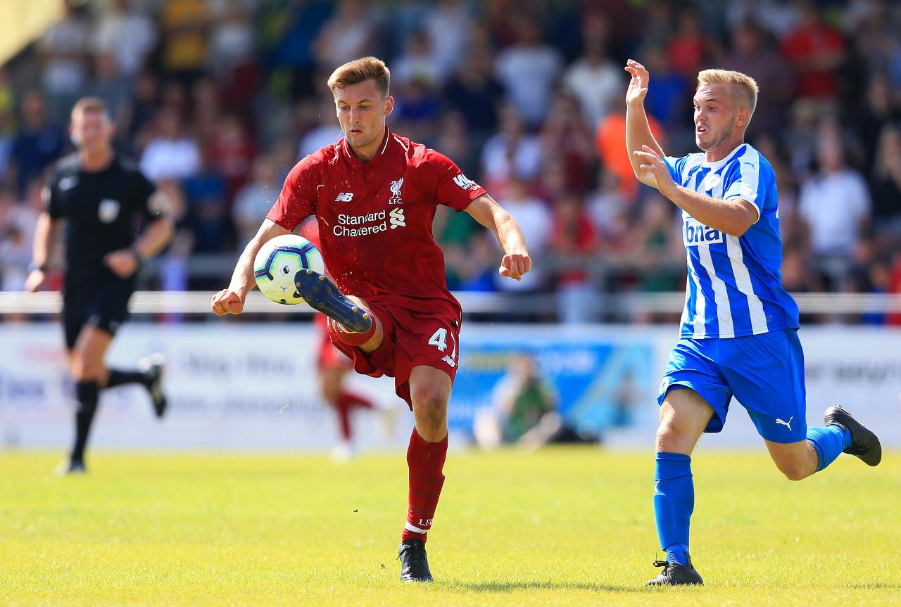 救火中卫,菲利普斯初次为利物浦出战英超联赛