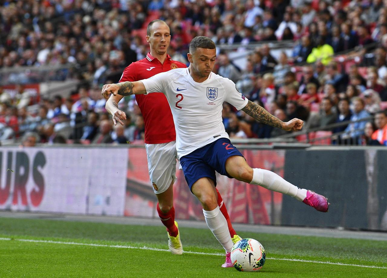 TA:特里皮尔可能出任英格兰队首发左后卫,格拉利什替补待命