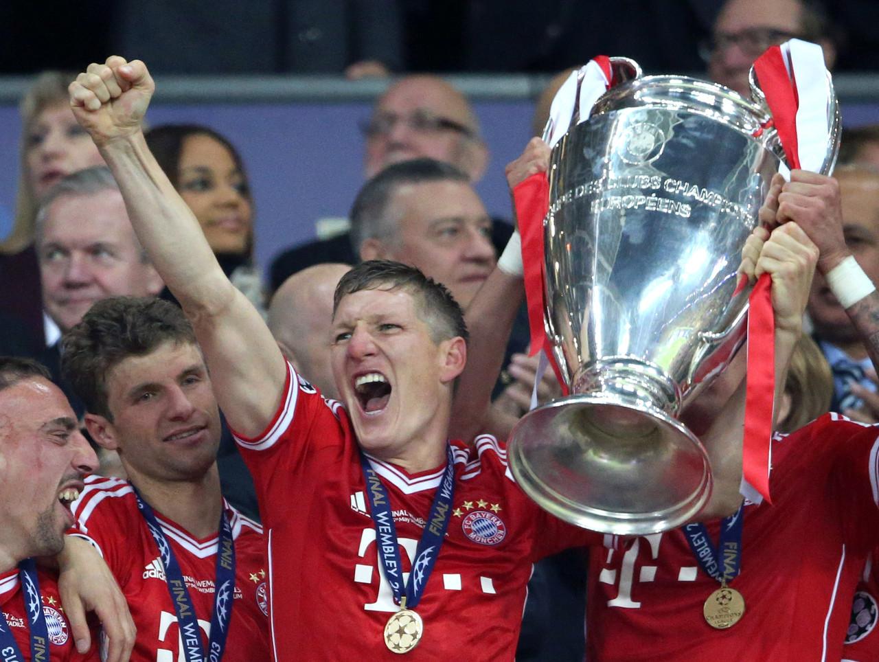 拜仁能够夺欧冠,特别是利物浦已出局的情况下 