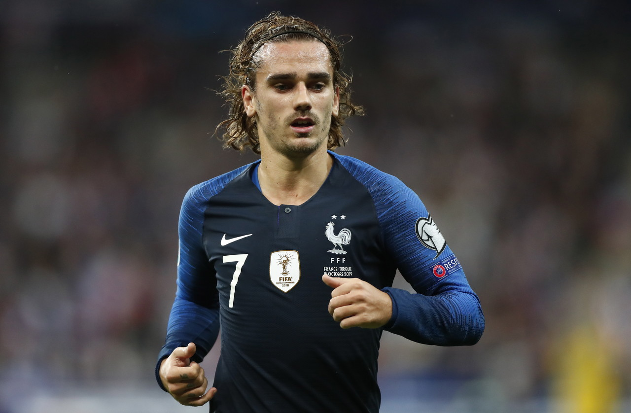 德尚:格列兹曼在法国队中一向很重要,不会忧虑他在国家队的体现