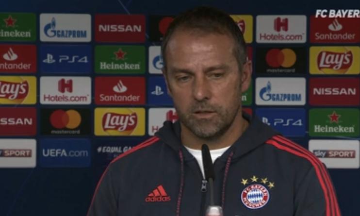 弗里克:对阵巴黎要安排好防卫,我们的优势在于施压对手