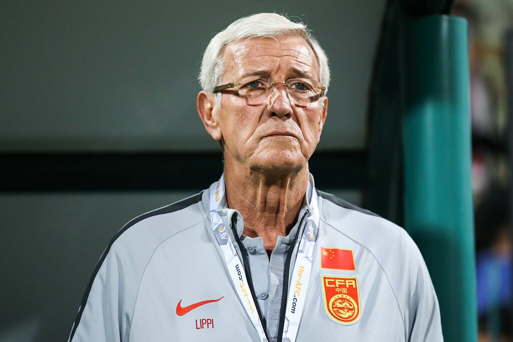 前国足主帅里皮望看到国足打进世界杯,但自己不想再做国足教练了  