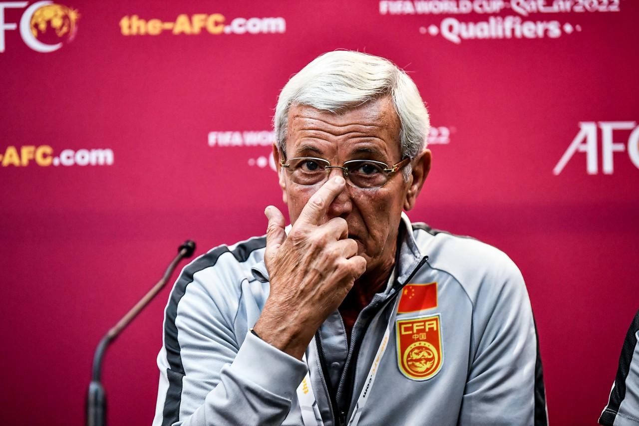 里皮:国足需要积累高水平比赛经验,同强队交手输了也能提高