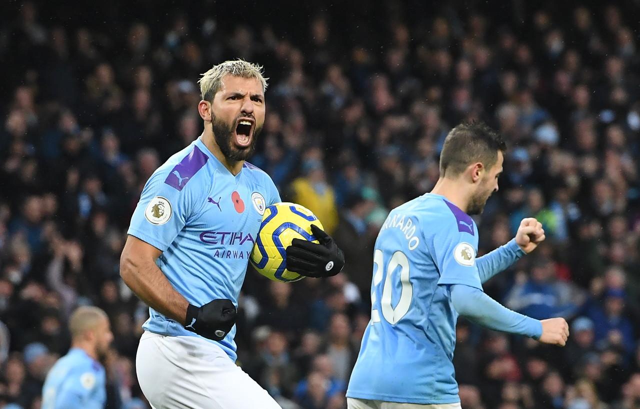 镜报:曼城以为若能进欧冠半决赛,阿圭罗有望赶得上