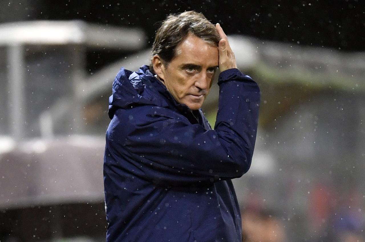 意大利国家队主帅曼奇尼在接受采访时对竞赛进行了点评  