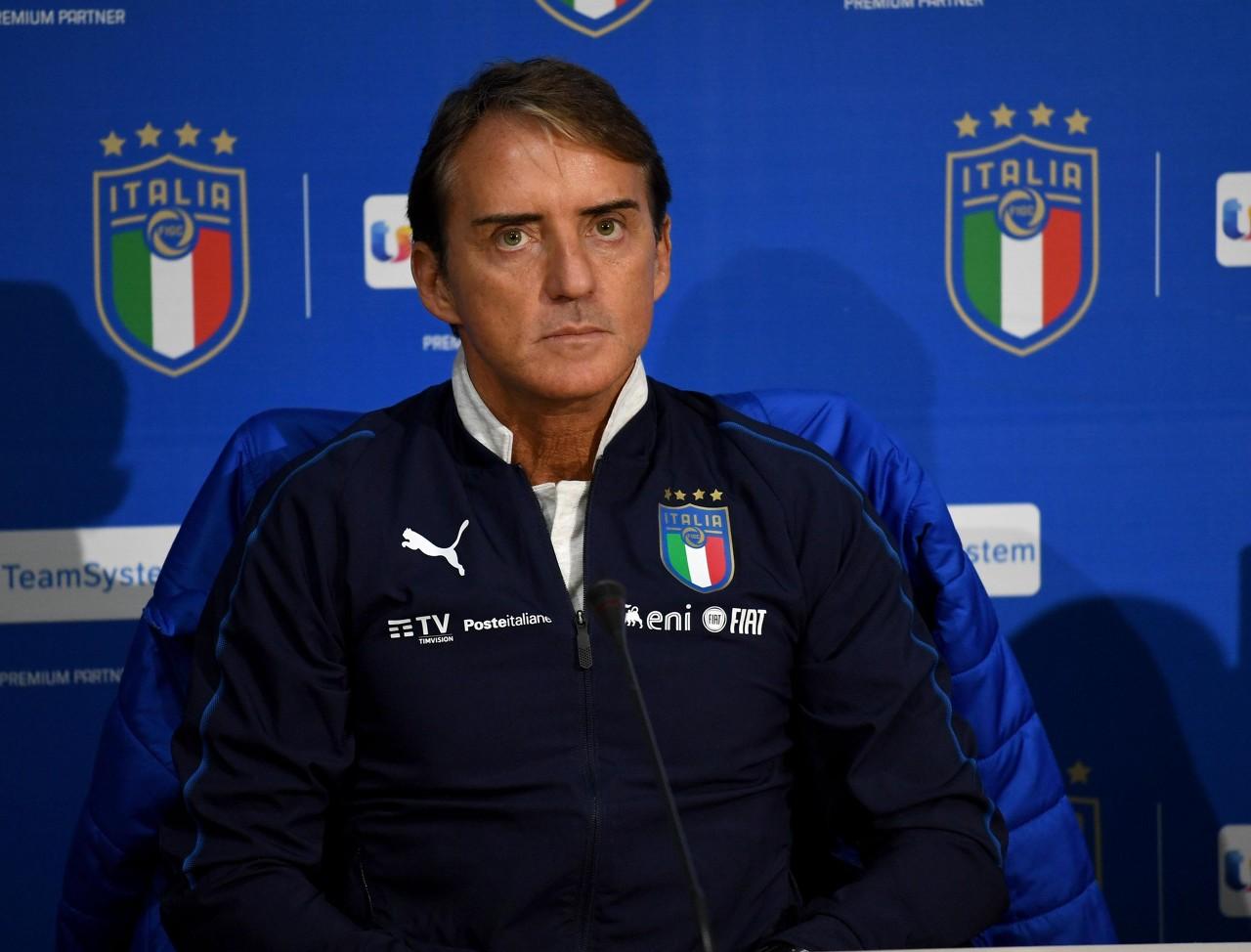 曼奇尼:保加利亚专注于防守反击,这种情况下咱们仍踢得很好