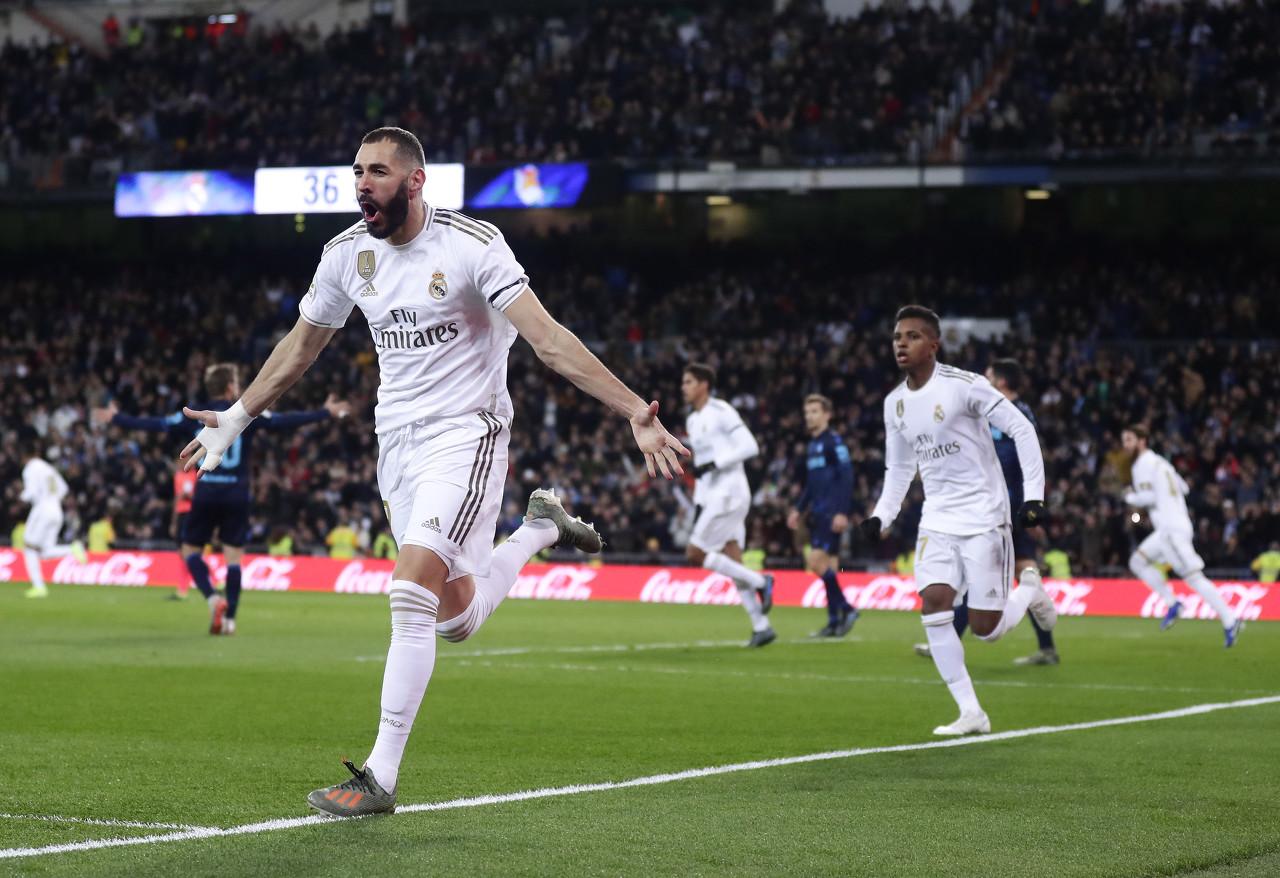 35球欧洲第四,本泽马被马卡评为皇马2019年度最佳球员