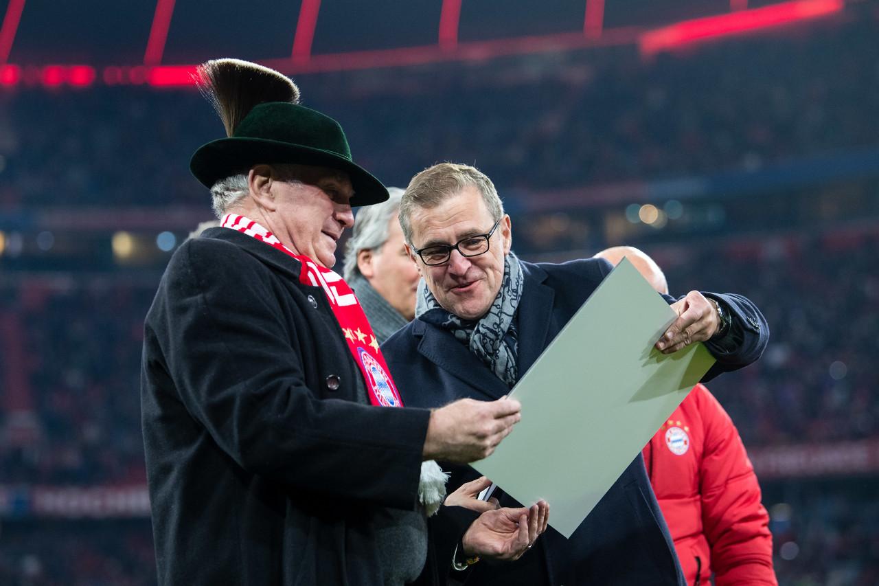 赫内斯:海纳把拜仁办理得不错,希望卡恩也能长留球队