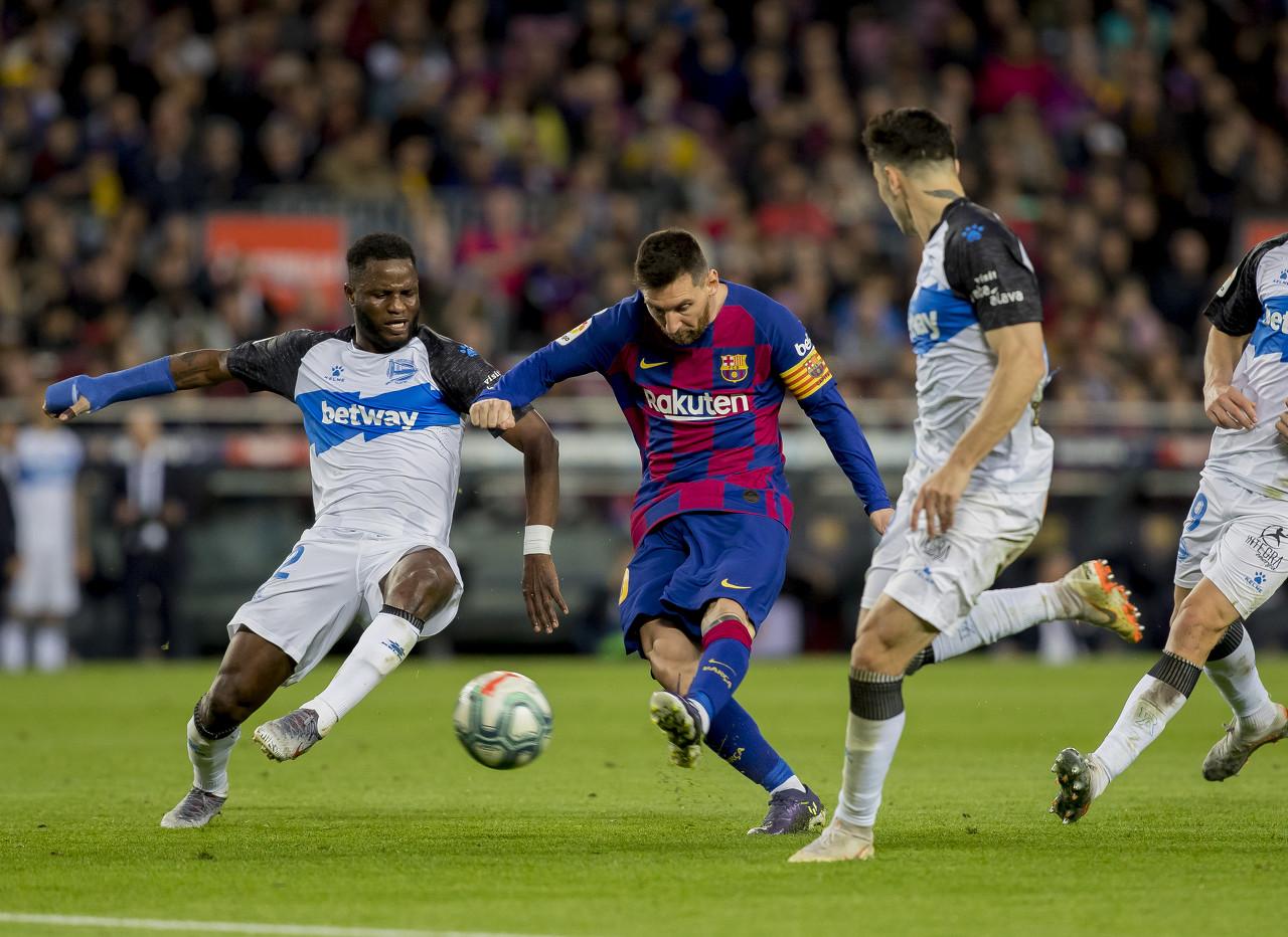 梅西上赛季西甲参加46球五大联赛第一,比五大联赛中的48队都多