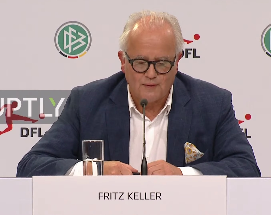 德国足协主席谈球员场上支持弗洛伊德:完全理解并尊重