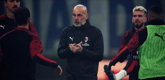 皮奥利:满足球队现在的效果,接下来米兰将面临困难