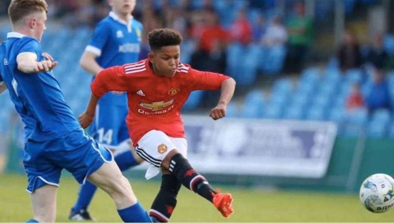 未来可期!曼联16岁小将索雷迪尔在青年足总杯中进球