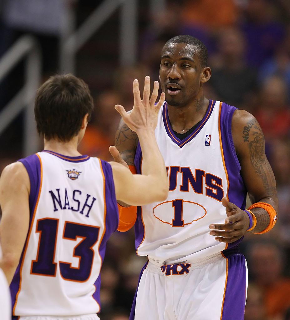 """纳什说,""""他跟球队许多人的关系都特别好"""