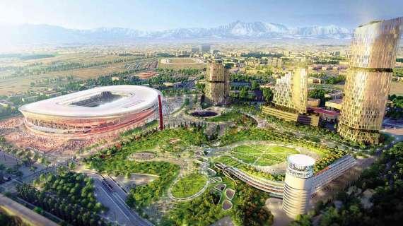 虽然国米前景不确定,但米兰对新球场项目建造感到达观 