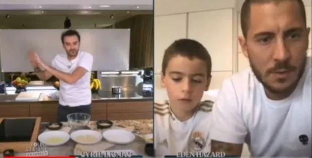 阿扎尔参与烹饪节目,惨遭儿子无情道破:你分明啥都不擅长